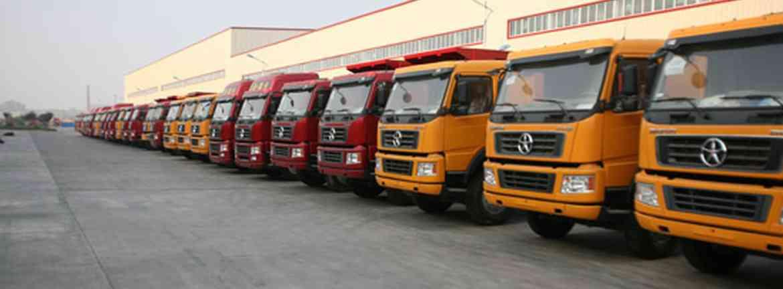 Xe tải Trung quốc Header