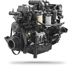 Động cơ DOOSAN DL08K Công suất 350 PS-2.100 rpm Momen xoắn 1.471N.m-1.200rpm Dung tích xylanh 7.640cc
