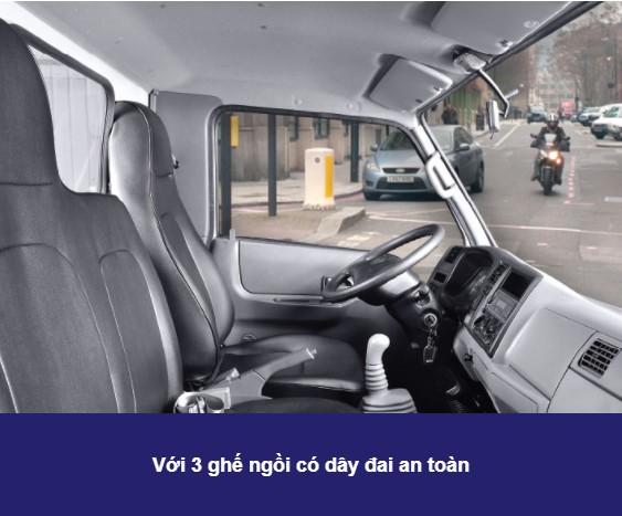 Nội thất xe tải IZ200 (6)